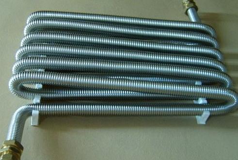 Теплообменники из гофрированной трубы из нержавеющей стали Пластины теплообменника APV J107 Новый Уренгой